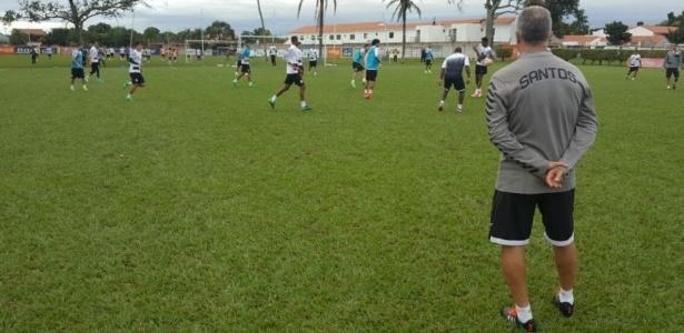 Dorival Júnior comanda treinamento do Santos na Bolívia