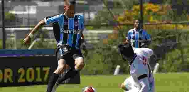Patrick em ação pelo Grêmio ainda nas categorias de base - Rodrigo Fatturi/Grêmio - Rodrigo Fatturi/Grêmio
