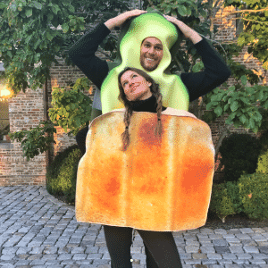 Tom Brady e Gisele Bündchen aparecem fantasiados para festa de Halloween - Reprodução/Instagram