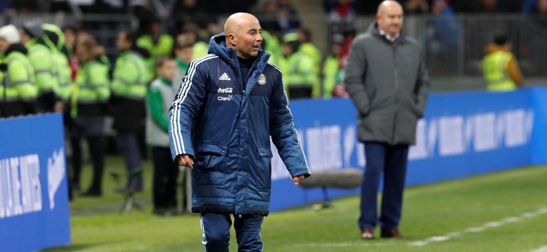 Jorge Sampaoli deixou Dybala e Icardi fora da última lista da Argentina antes da convocação final - Sergei Karpukhin/Reuters