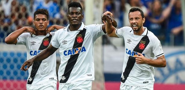 Paulão atuou em 24 partidas pelo Vasco e fez um gol, diante do Cruzeiro
