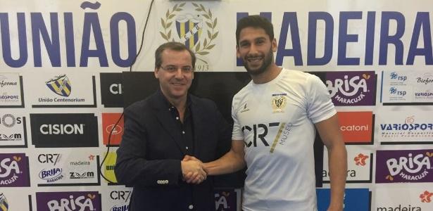 Depois de clubes da Terceirona, Ravi subiu um degrau no futebol europeu - Divulgação/União da Madeira