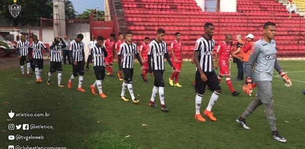 Atlético-MG e Audax-SP se enfrentaram duas vezes na Copinha