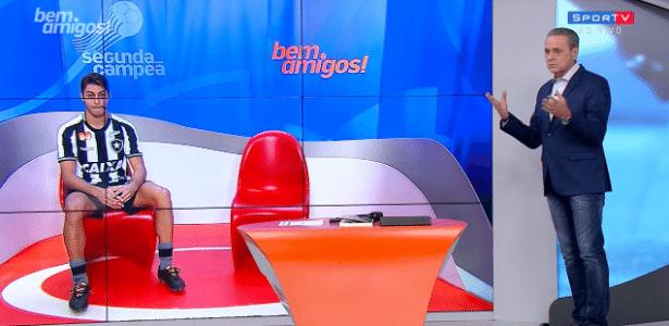 Luís Roberto reclama de ausência de palmeirenses no 'Bem, Amigos!'
