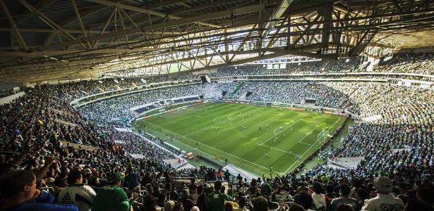 Allianz Parque terá casa cheia para duelo contra o América-MG na quarta-feira