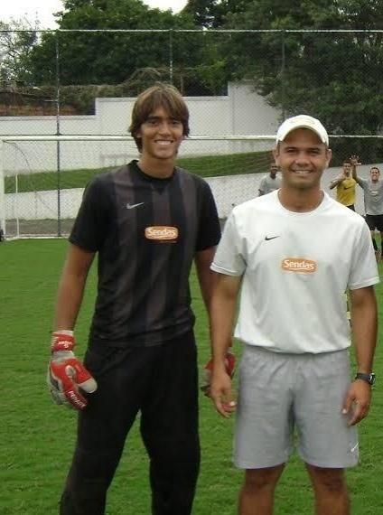 César e Jober se conheceram em 2007, no Sendas. A amizade já caminha para 12 anos