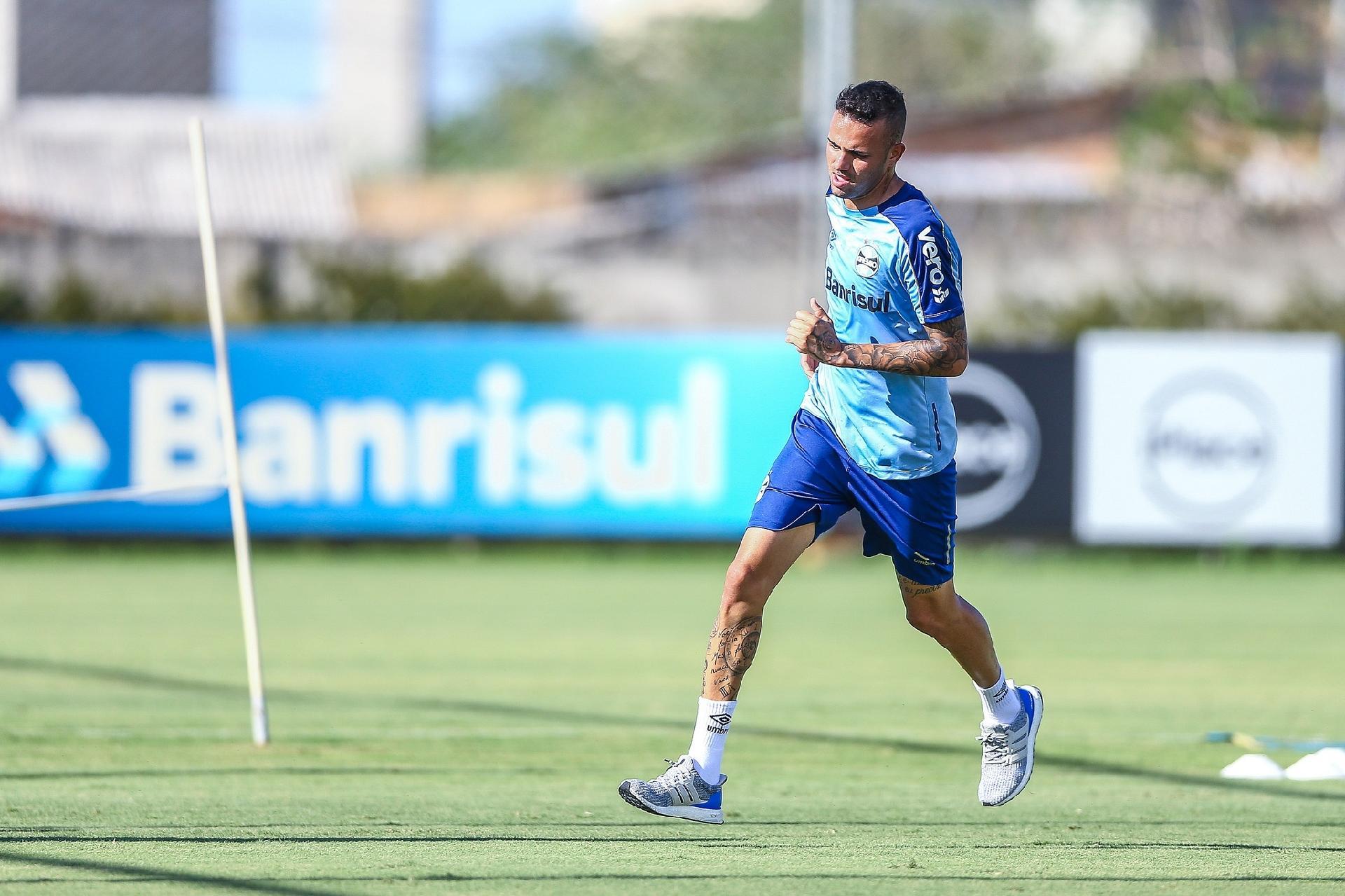 f6f8883e2ecae Grêmio: Luan admite que jogou com dor em 2018 e diz que ficou triste com  negociação