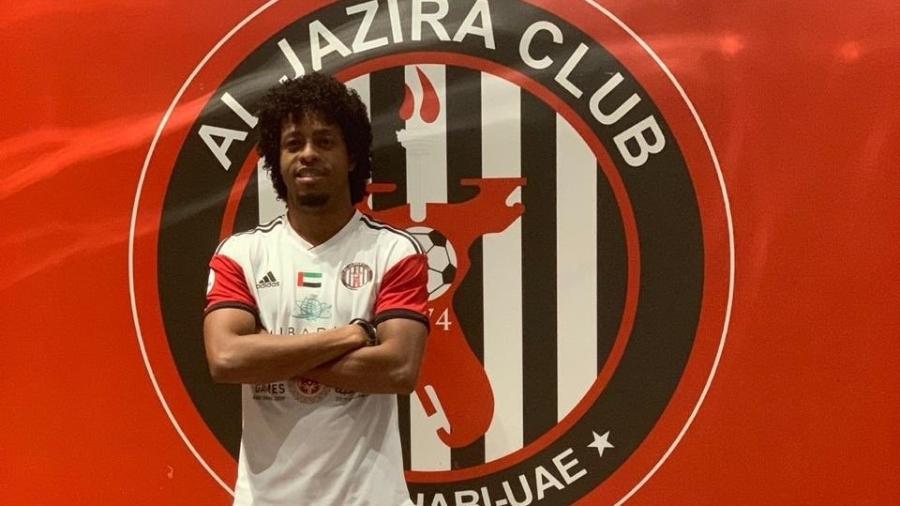 Keno está emprestado ao Al Jazira, dos Emirados Árabes, até o fim do mês. Ele se transfere para o Atlético-MG no mercado da bola - Divulgação