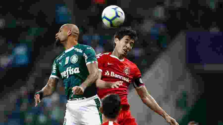 Rodrigo Dourado segue fora do time e bola aérea defensiva preocupa o Inter - Daniel Vorley/AGIF