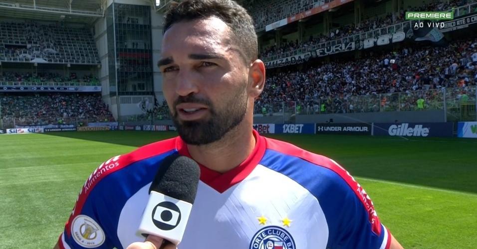 Gilberto, atacante do Bahia