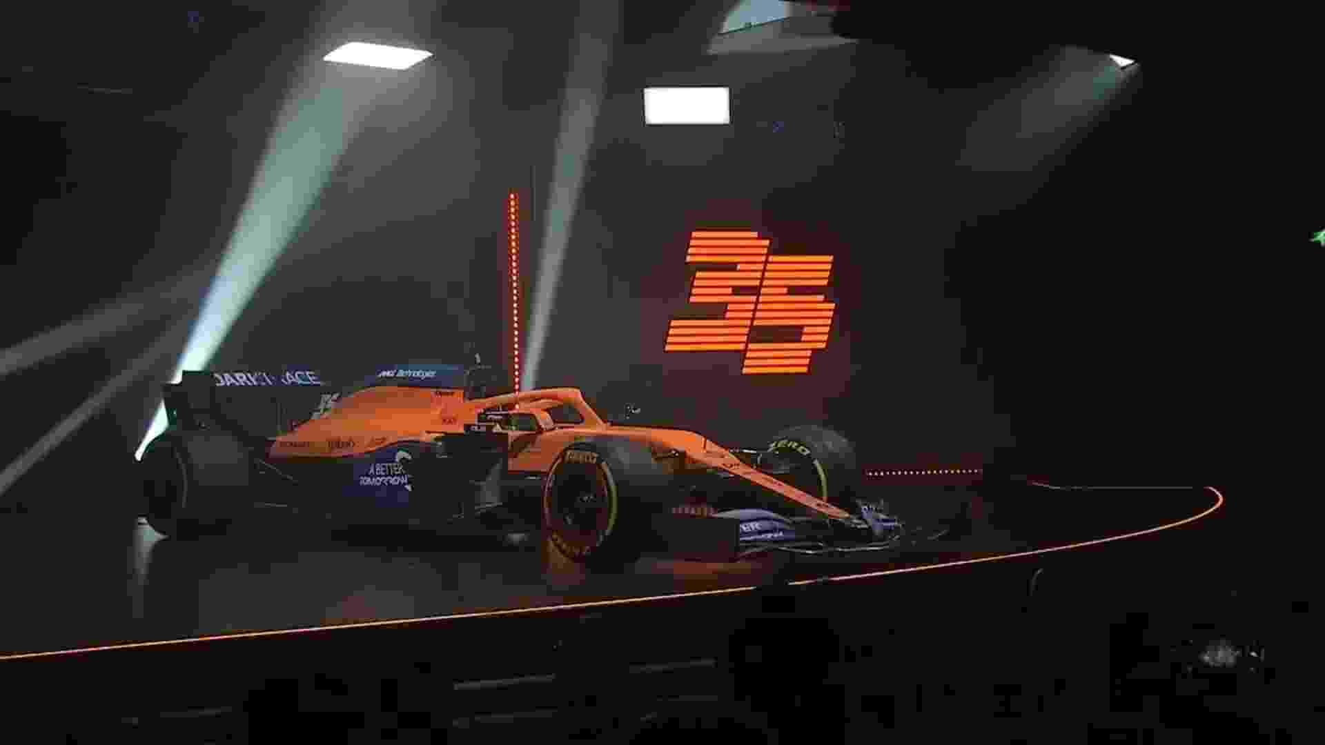 Equipe foi a que mais cresceu em 2019 - McLaren/Reprodução