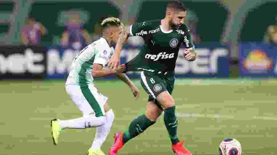 Zé Rafael virou titular e foi elogiado pelo desempenho nas três vitórias seguidas do Palmeiras no Paulista - Cesar Greco/Ag. Palmeiras