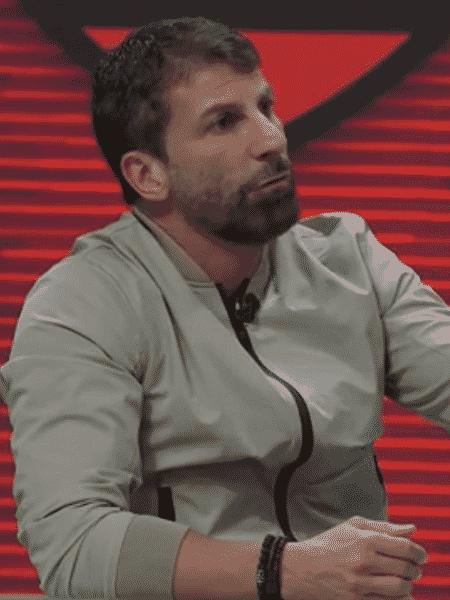 Pedrinho, comentarista do Grupo Globo - Reprodução/SporTV - Reprodução/SporTV