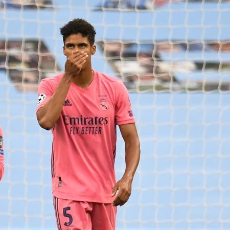 Varane pode deixar o Real Madrid - PETER POWELL / POOL / AFP