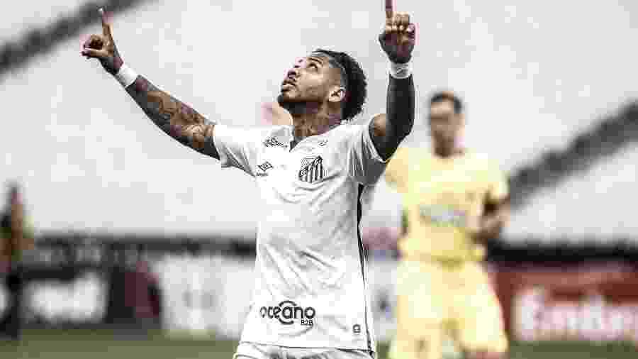Marinho rodou bastante antes de deslanchar, após vídeo que virou meme - Ivan Storti/Santos FC