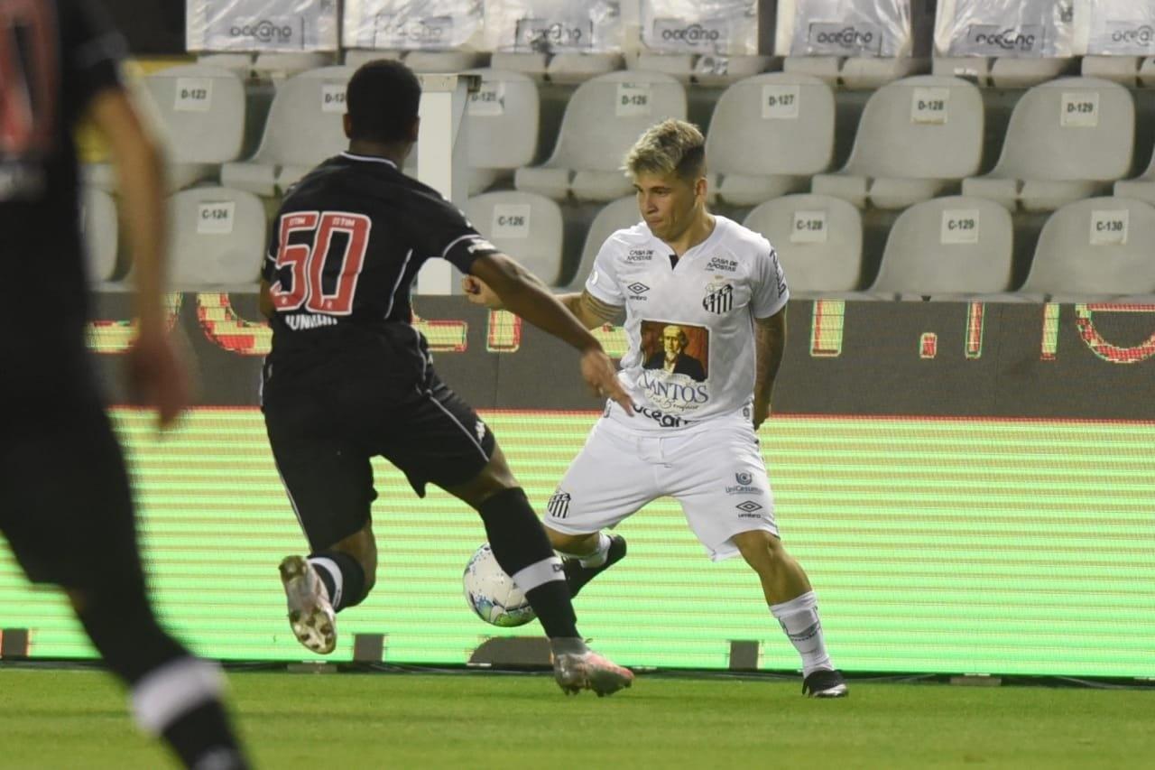 Santos E Vasco Empatam Em Novo Jogo Com Var Em Destaque Na Vila Belmiro 02 09 2020 Uol Esporte