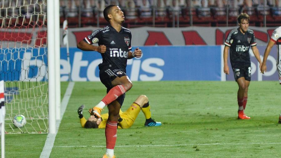 Brenner deixa o São Paulo para assinar com clube dos Estados Unidos no mercado da bola - Bruno Ulivieri/AGIF