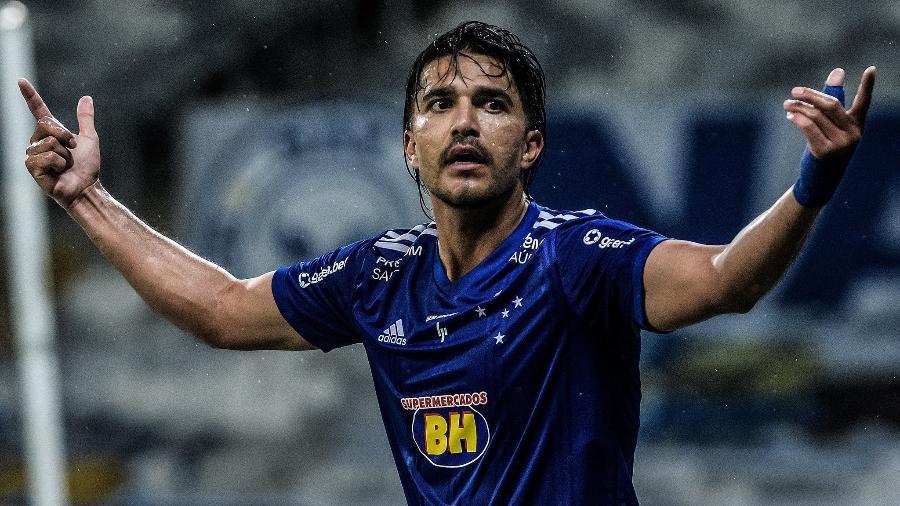 Marcelo Moreno não teve um bom ano de 2020 pelo Cruzeiro e viveu seca de gols na última temporada - Gustavo Aleixo/Cruzeiro