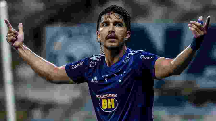 Marcelo Moreno tenta recuperar a marca de maior artilheiro estrangeiro do Cruzeiro - Gustavo Aleixo/Cruzeiro