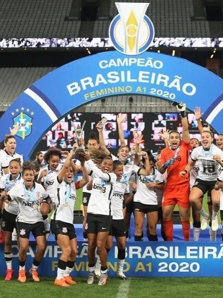 Time paulista foi o campeão do Brasileirão Feminino A1 2020 - Divulgação/Corinthians
