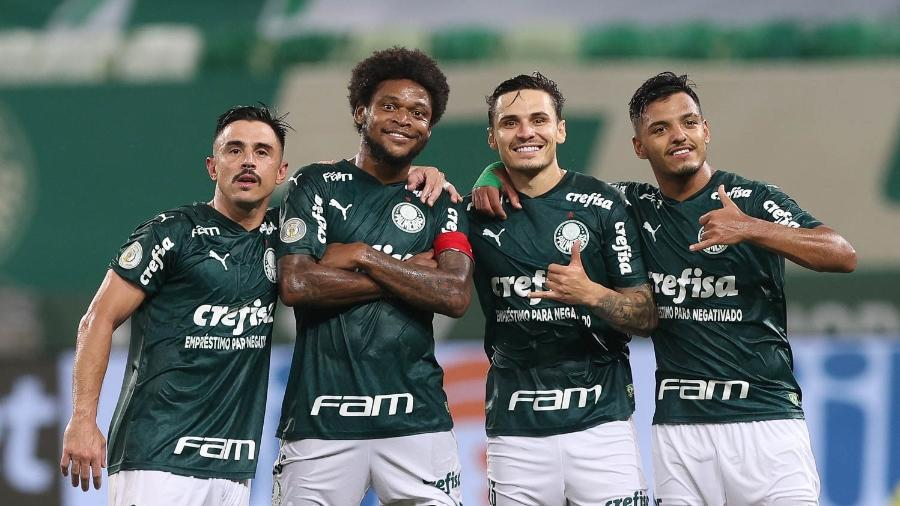 Willian, Luiz Adriano e Raphael Veiga tentam encerrar jejum de gols no Palmeiras - Cesar Greco