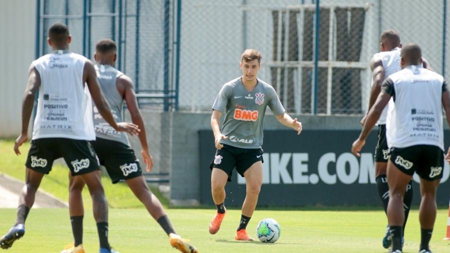 Atividade no treino do Corinthians - Rodrigo Coca/Agência Corinthians