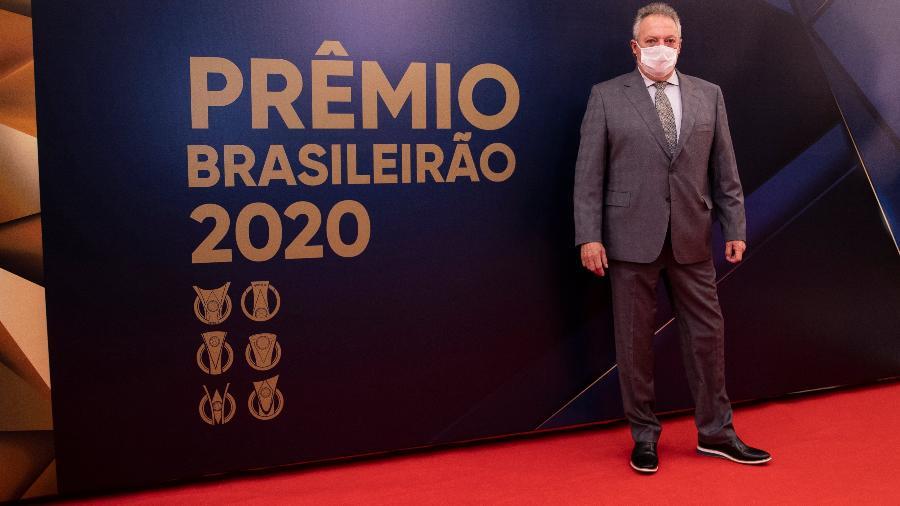 Abel Braga, ex-treinador do Internacional, na Premiação do Brasileirão - Twitter CBF
