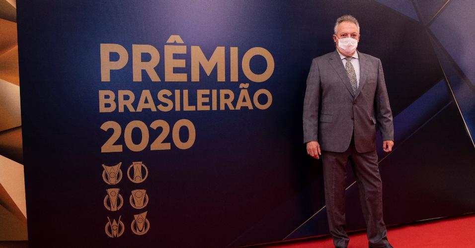 Abel Braga, ex-treinador do Internacional, na Premiação do Brasileirão