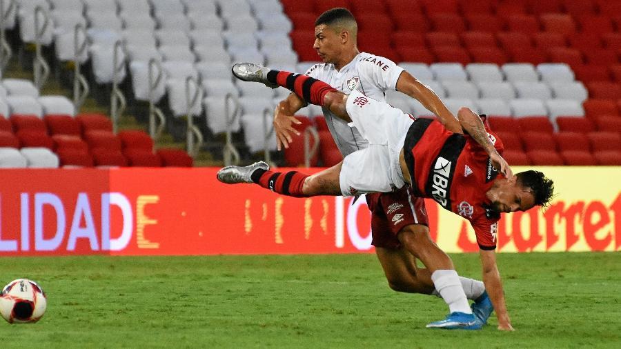 Fluminense venceu o Flamengo por 1 a 0, no Maracanã, pela terceira rodada da Taça Guanabara - Mailson Santana / Fluminense