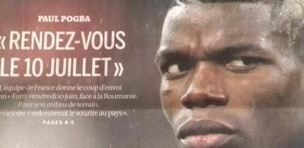 Pogba é a atração do noticiário francês nesta sexta, dia de pontapé da Euro