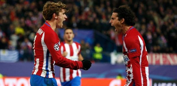Griezmann já marcou nove gols na temporada 2016/17 - REUTERS/Juan Medina