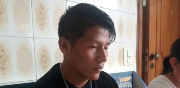Richar Vela, goleiro boliviano de 19 anos, passou 20 dias em Presidente Prudente