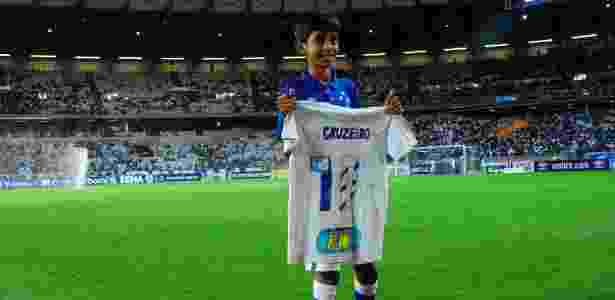 Denner Jonathan, torcedor do Cruzeiro - Washington Alves/Cruzeiro - Washington Alves/Cruzeiro