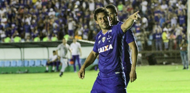 Fred ultrapassou fenômeno e agora é o 34º maior artilheiro da história do Cruzeiro - Sergio Roberto Oliveira/Light Press