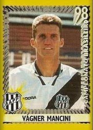 VÁGNER MANCINI, técnico do Vitória, jogava como volante e passou pela Ponte Preta em 1998