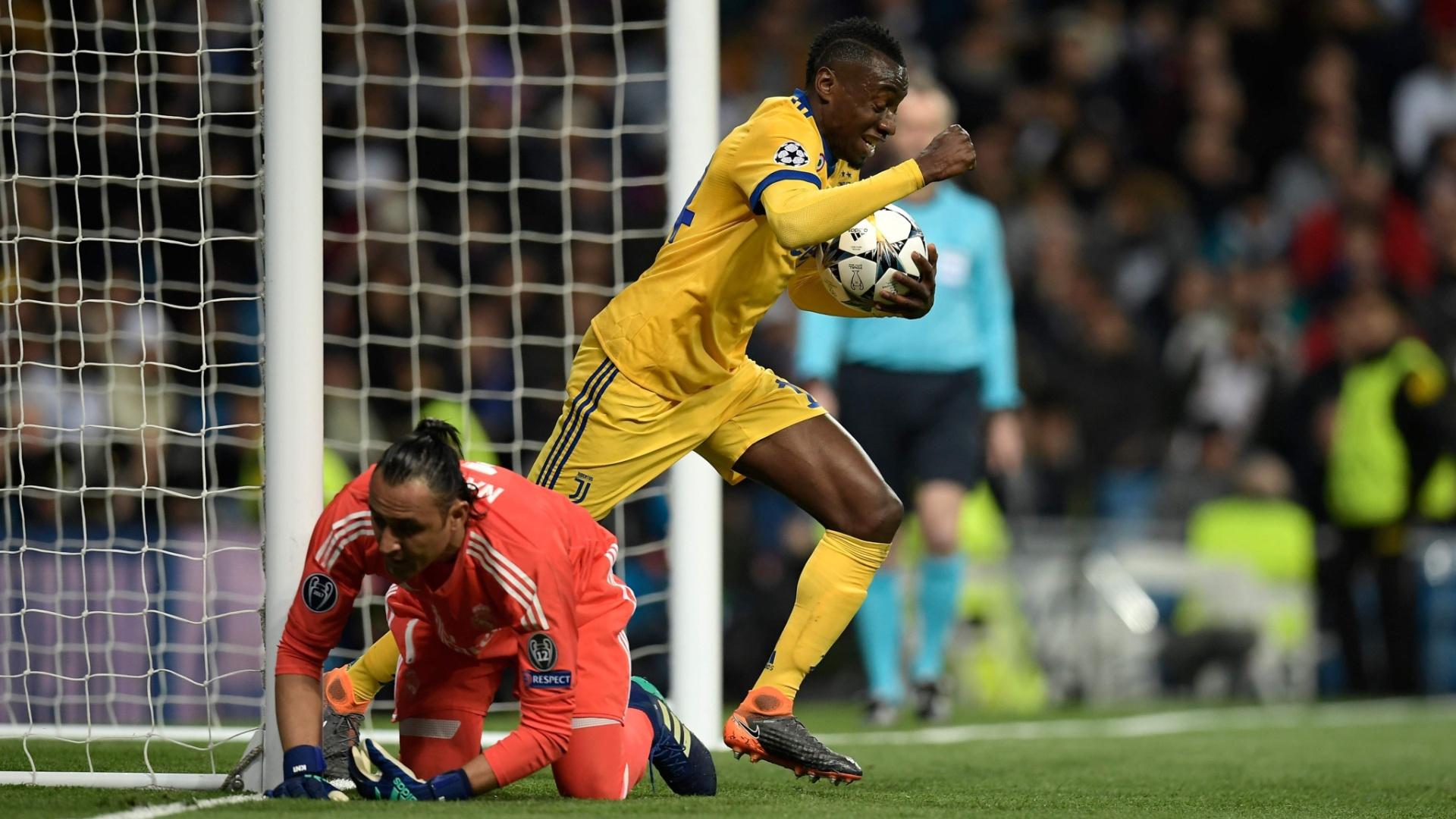 Matuidi aproveitou a falha de Keylor Navas e marcou o terceiro da Juventus