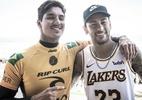 Medina terá festa pós-titulo e passará Réveillon com Neymar na Bahia - WSL / DAMIEN POULLENOT