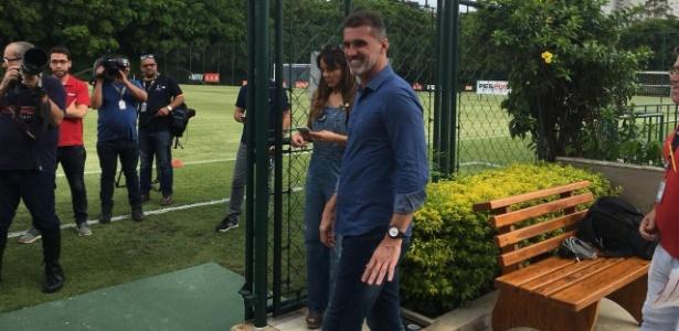 Mancini iniciou o seu trabalho como coordenador do São Paulo na última quinta-feira