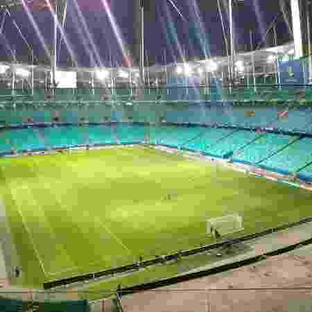 Estádio já está envelopado para abertura da Copa América - Gabriel Carneiro/UOL