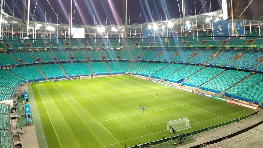 Fonte Nova preparada para a Copa América - Gabriel Carneiro/UOL