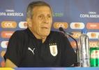 """Em coletiva quente, Tabárez diz que não deve explicações: """"Tem que aceitar"""" - Gabriel Carneiro/UOL"""