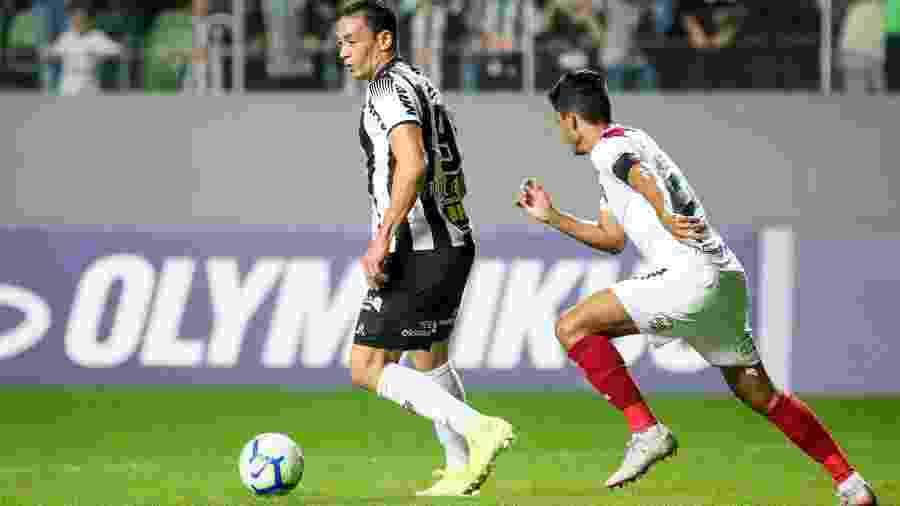 Equipes se enfrentaram em Minas Gerais no primeiro turno deste Brasileiro - Bruno Cantini/Atlético-MG