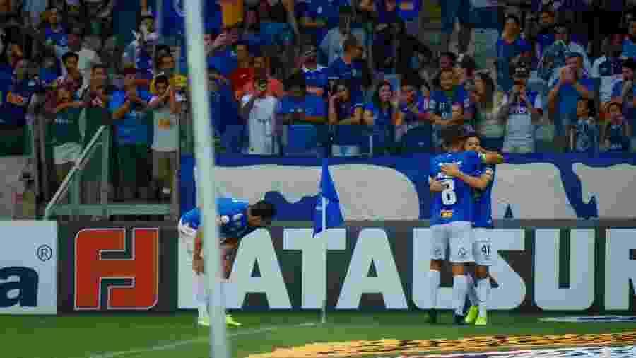 Cruzeiro venceu o Vasco na última rodada e tenta se desgarrar ainda mais das últimas colocações do Brasileiro - Vinnicius Silva/Cruzeiro