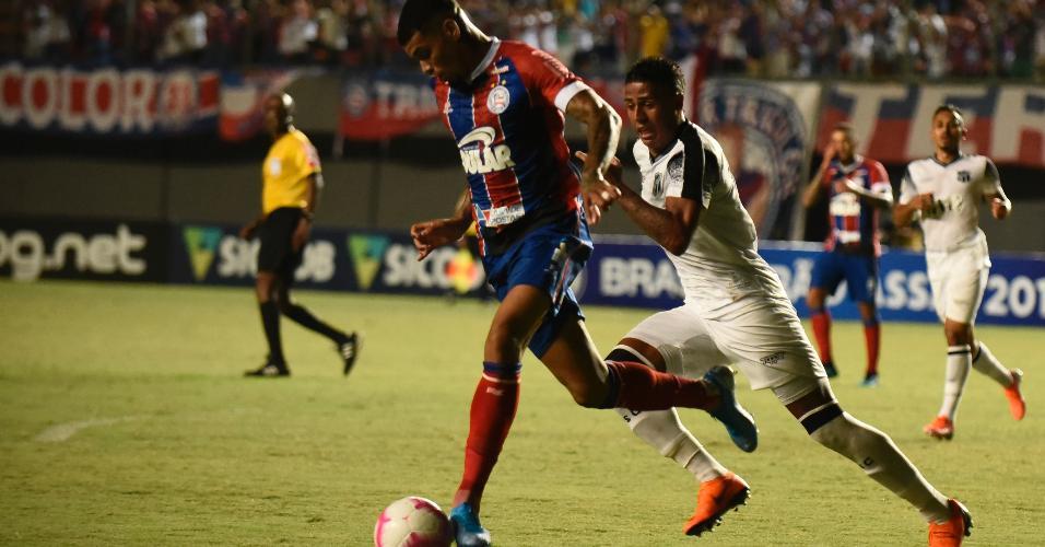 Partida entre Bahia x Ceará pelo Campeonato Brasileiro