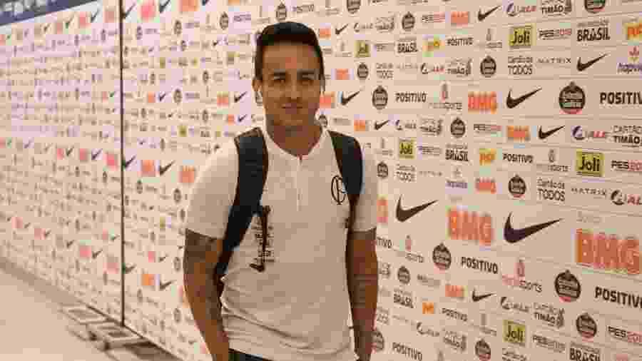 Jadson durante sua segunda passagem pelo Corinthians; ele foi à Justiça contra o clube - Daniel Augusto Jr./Agência Corinthians