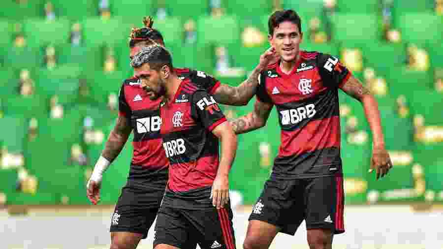 Calção do time do Flamengo terá a marca da Qualicorp - Thiago Ribeiro/AGIF