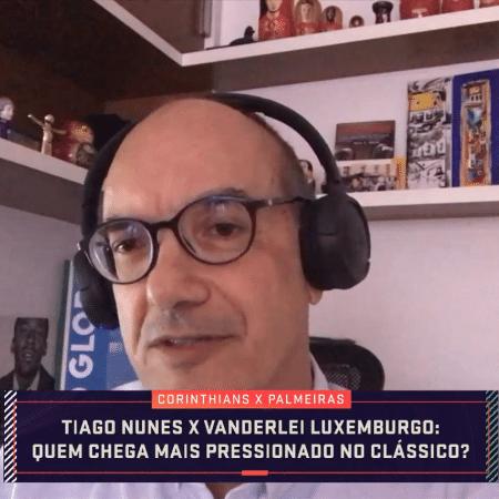 Lédio Carmona, comentarista do Grupo Globo - Reprodução/SporTV
