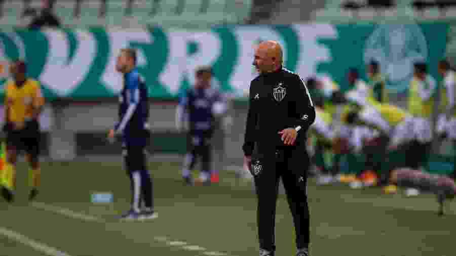 Postulante ao cargo de presidente do Atlético-MG quer Sampaoli no clube até 2022 - Pedro Souza/Atlético-MG