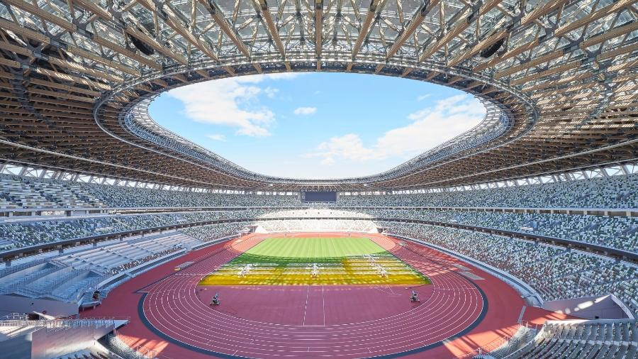Estádio Olímpico de Tóquio - Japan Sport Council
