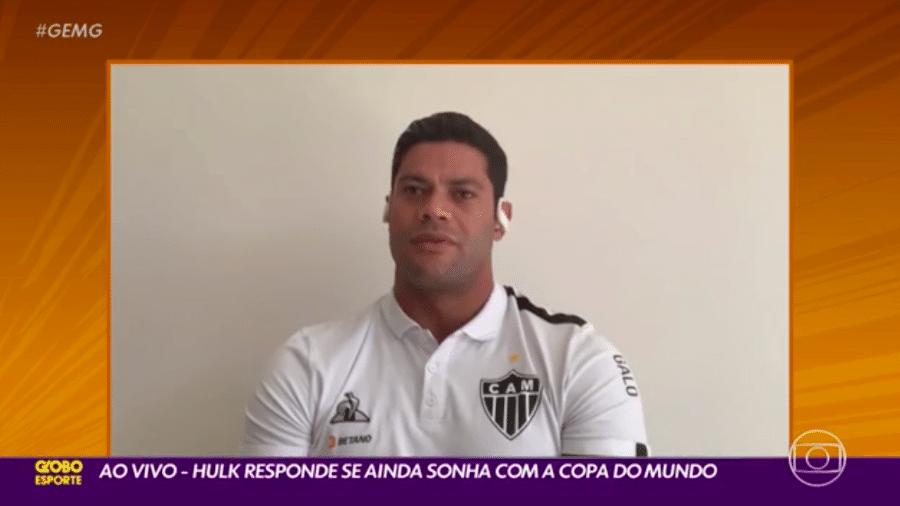 """Hulk fala sobre briga com Pottker: """"Ele falou coisas graves"""" - Transmissão Globo Esporte MG"""